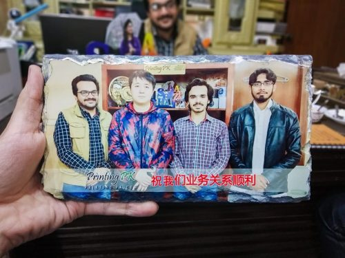 Rock Photo Frame Printing Digital on Real Rock Stone Sublimation Heat Transfer 3D Printing photo review